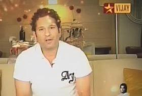 Sachin Tendulkar in Super Singer 4