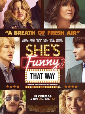 Poster She's Funny That Way 2014