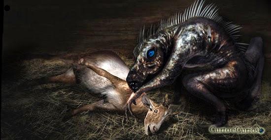 Chupa-cabra capturado: o caso do Bluedog nos EUA