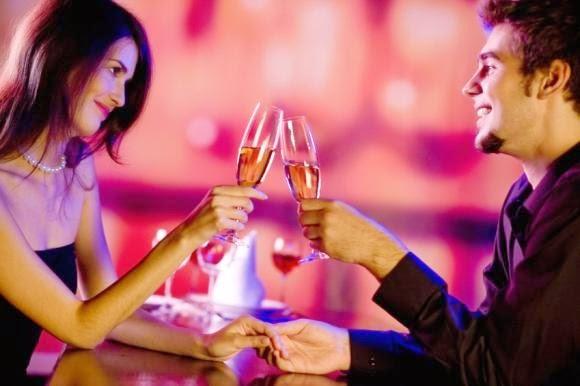 cina romantica valentines day