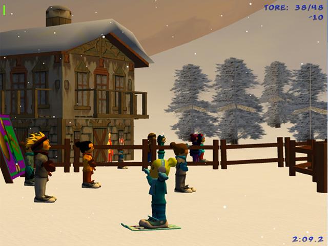 لعبة التزلج الحر على الثلج Winter Sports Extreme