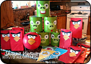 But until then I will show you the fun things I created for his Angry Bird .