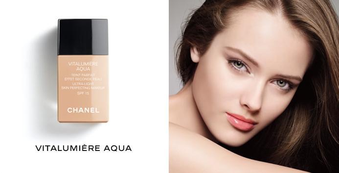 Chanel Vitalumière Aqua Ultra Light Skin Perfecting Makeup