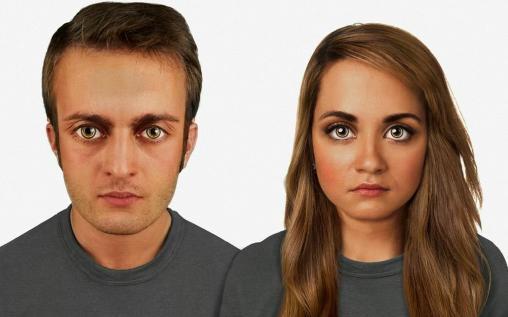 بالفيديو.. علماء يعرضون كيف سيكون شكل الانسان بعد 100 الف عام  - What The Human Face Might Look Like 100,000 Years From Now