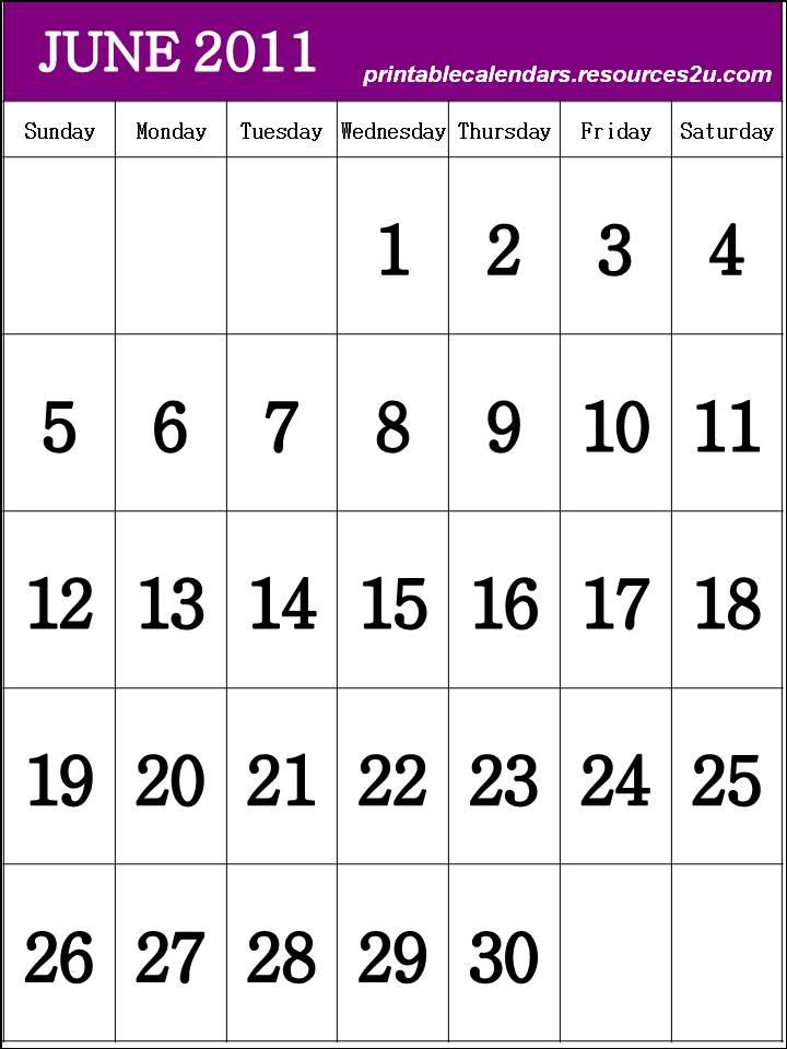 printable june 2011 calendar. June 2011 Calendar printable