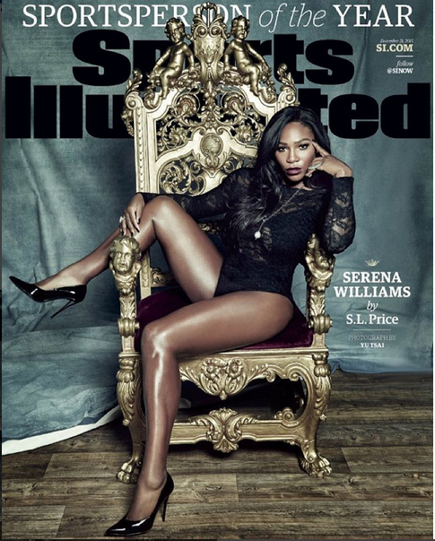 Serena Williams Sizzles On The Cover Of Sports Illustrated