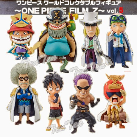 Jual One Piece World Collectable Figure One Piece Film Z seri 5