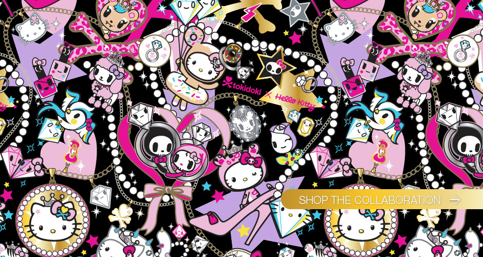 Group Of Tokidoki Hello Kitty Wallpaper 2015