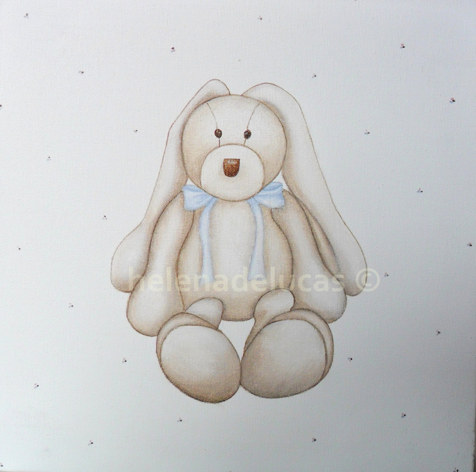 Helenadelucas cuadros para bebe pintados a mano - Cuadros en bastidor ...