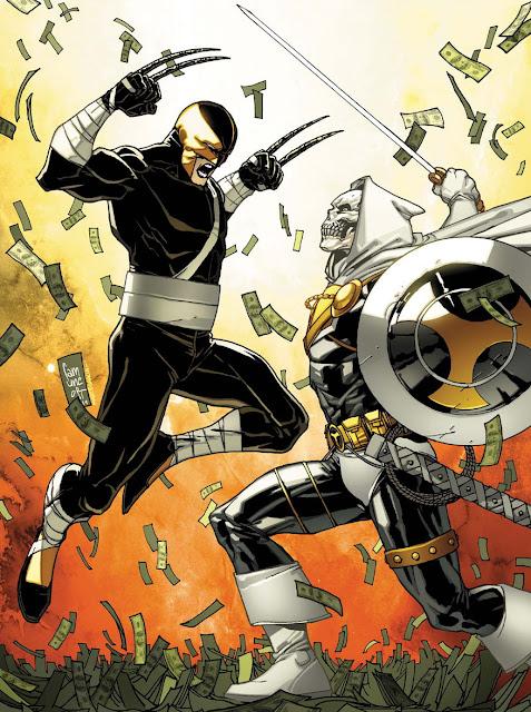 Daken (Marvel Comics) Character Review - Daken Vs Taskmaster