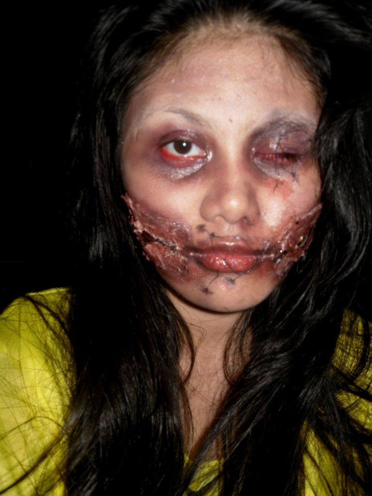 Hisseria.blogspot.com: Halloween makeup: Dead girl makeup