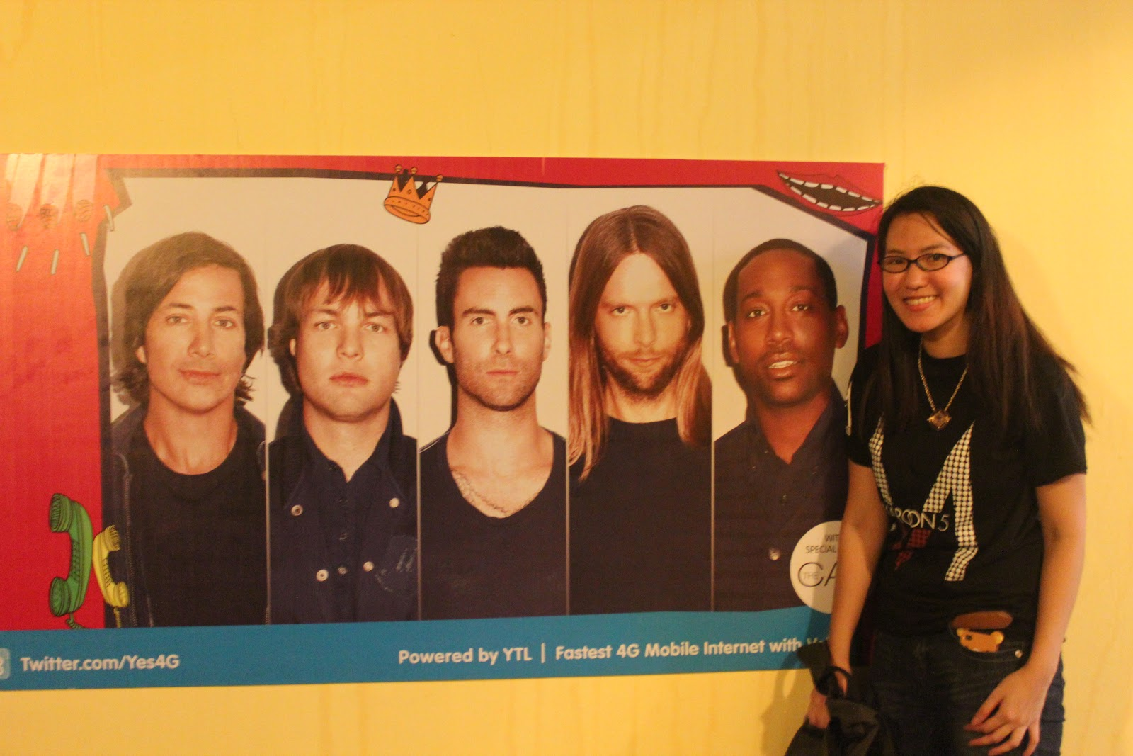 Perspectiv me maroon 5 overexposed tour 2012 live in malaysia o o meet greet photo with maroon 5 m4hsunfo