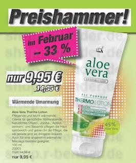 Aloe Vera Thermo Lotion