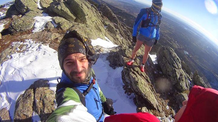 Consejos trail running nieve. Escorial
