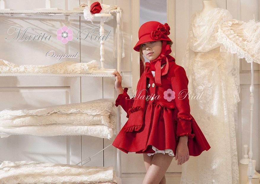 Abrigo rojo la martinica