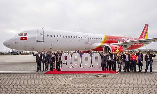Việt Nam nhận chiếc máy bay thứ 9.000 của Airbus