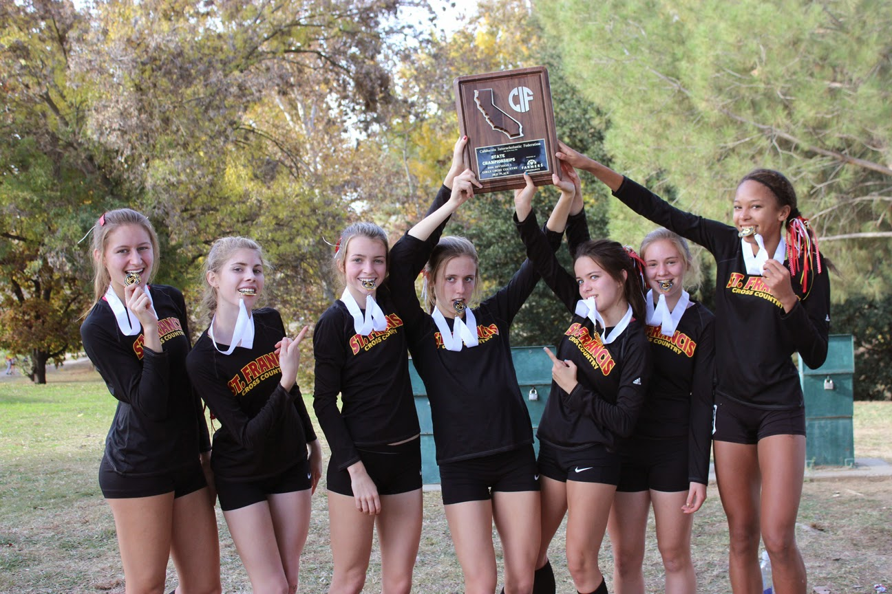 St. Francis Takes Third In State X-Country