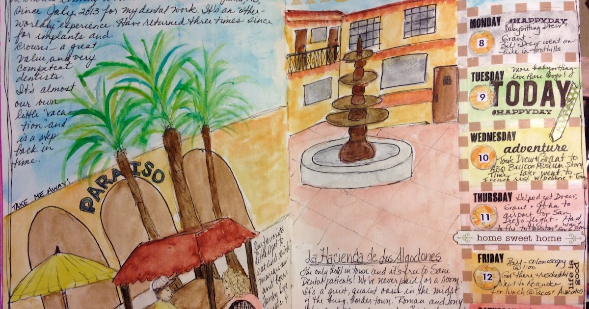 Artful Musings Documented Life Planner Week 23