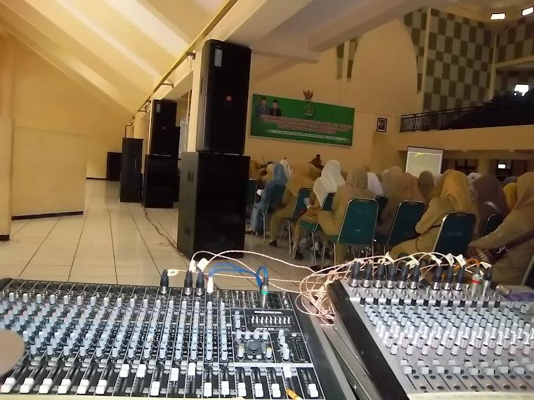 Event Depag Kanwil Jatim di IAIN Sunan Ampel with Gambus Modern IKHLAS