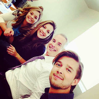 PLL Table Read Sasha Pieterse Drew Van Acker
