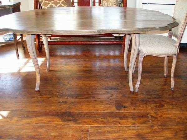 The Holland House: Scalloped Dining Table