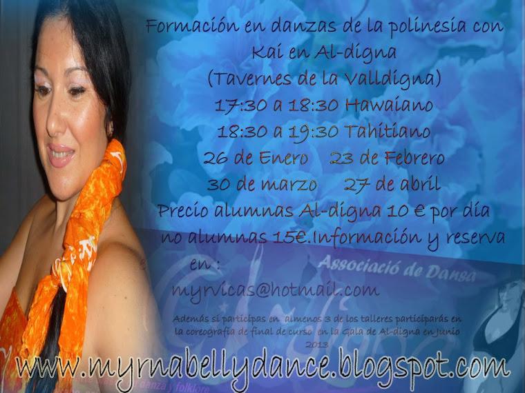 annavi-kai danzas polinesias en españa
