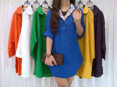 Blouse Rayon Kancing Kode M_01092