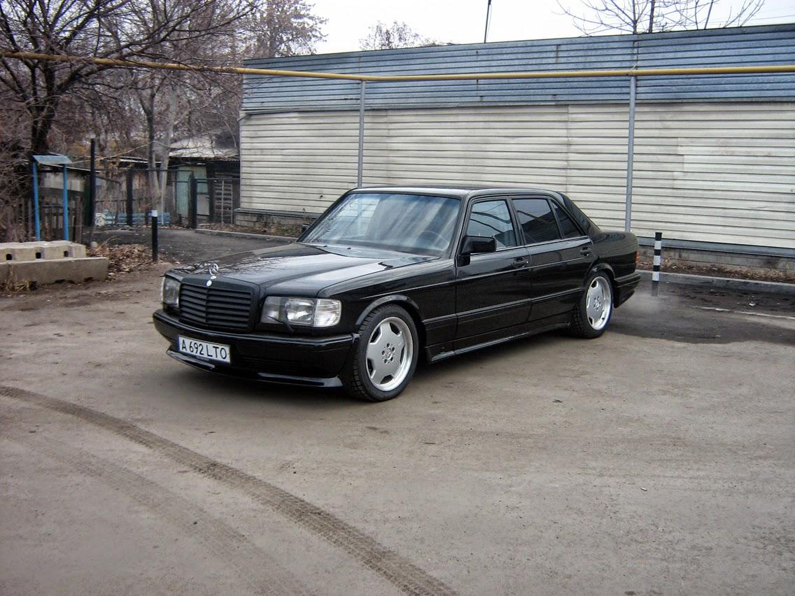 Mercedes benz w126 amg w126 500 sel