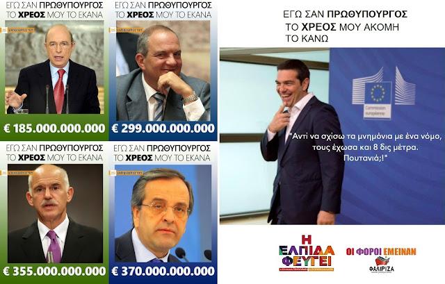 Από το χάος των φιλελεύθερων ευρωλιγούρηδων του Σαμαρά και του Βενιζέλου στο χάος του πρώτη φορά αριστερά (και τελευταία) Τσίπρα