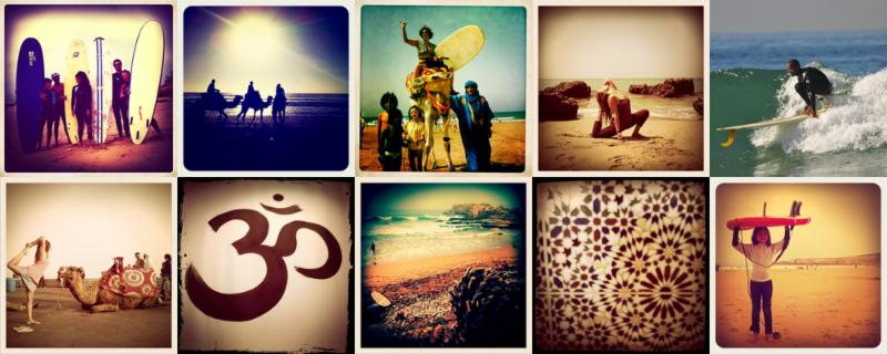Yoga y surf en Marruecos 2015