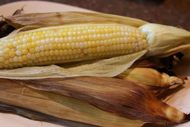 Roasted Corn: Boulevard Raspail Corn on the Cob: Simple Living and Eating