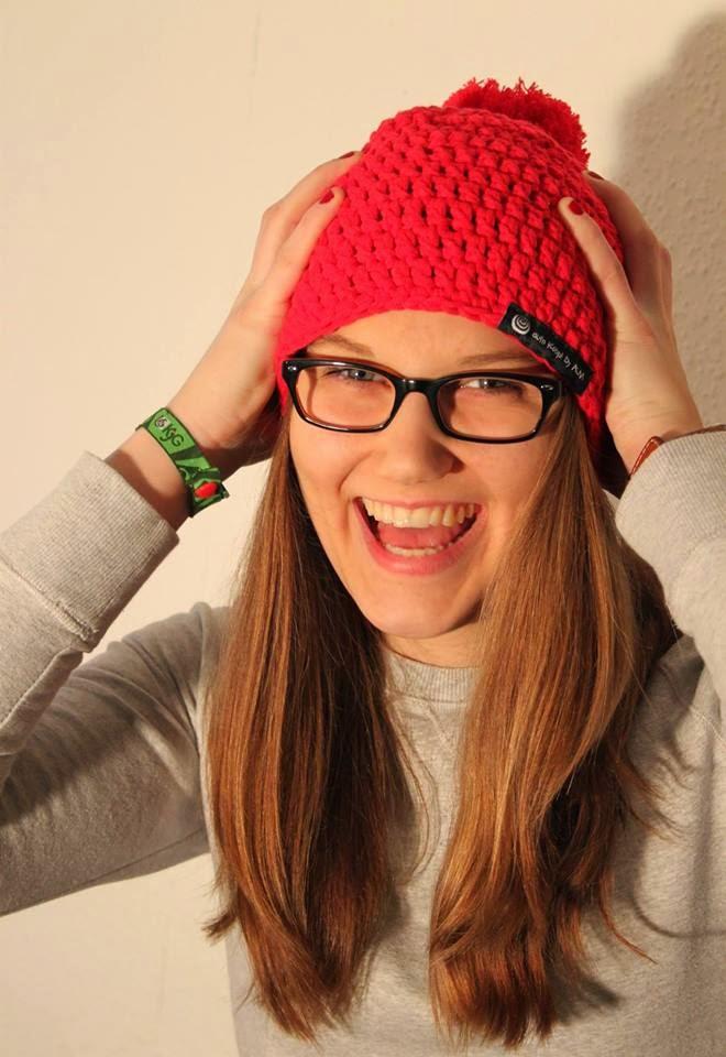 Meine Schwester bei einem Fotoshooting für ihr Label ALM Design