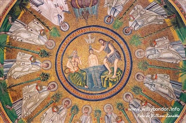 Mosaico bizantino - Ravenna