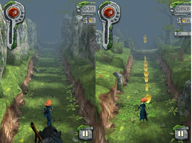 TEMPLE RUN: BRAVE IS AN OFFICIAL APP WITH AN ALL NEW LOOK AND ARCHERY