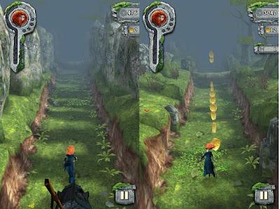 Hra na mobil Temple Run:Brave