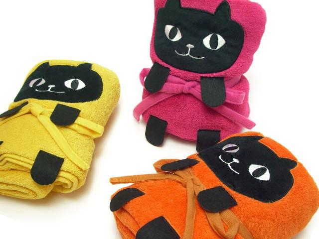 捲捲貓咪毯子 3胞胎
