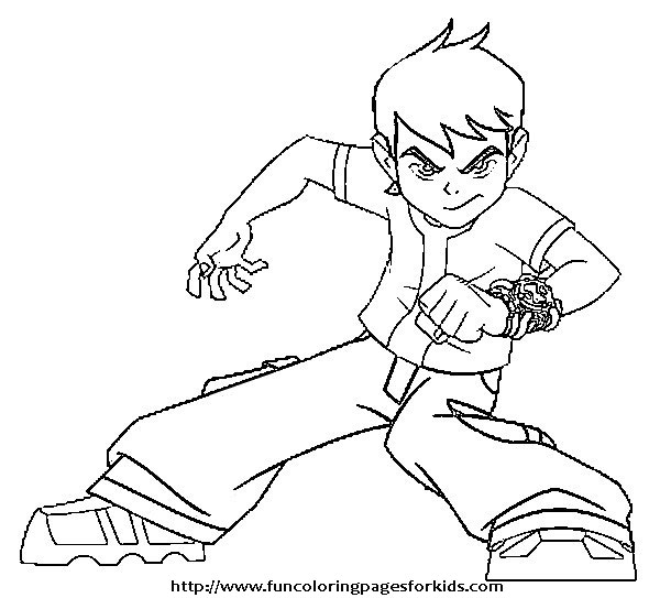 coloring pages ben 10 - photo#2