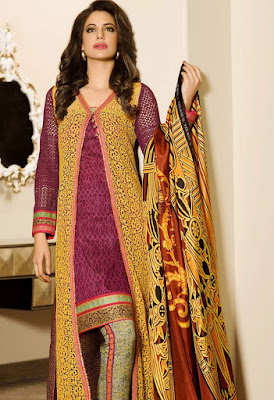 Lawn Luxury Collection 2015 by Asim Jofa