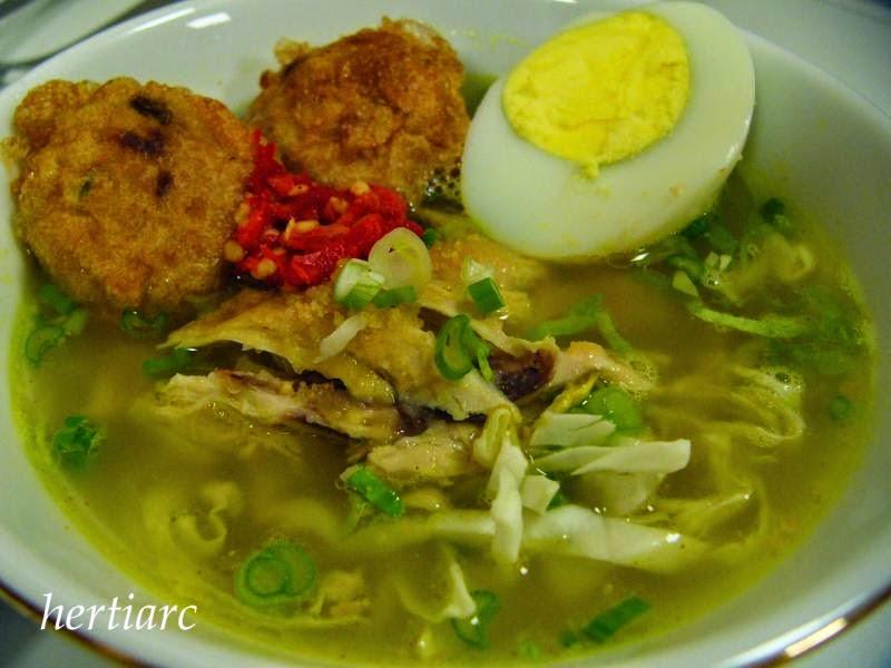 Resep Soto Ayam Bumbu Kuning Praktis