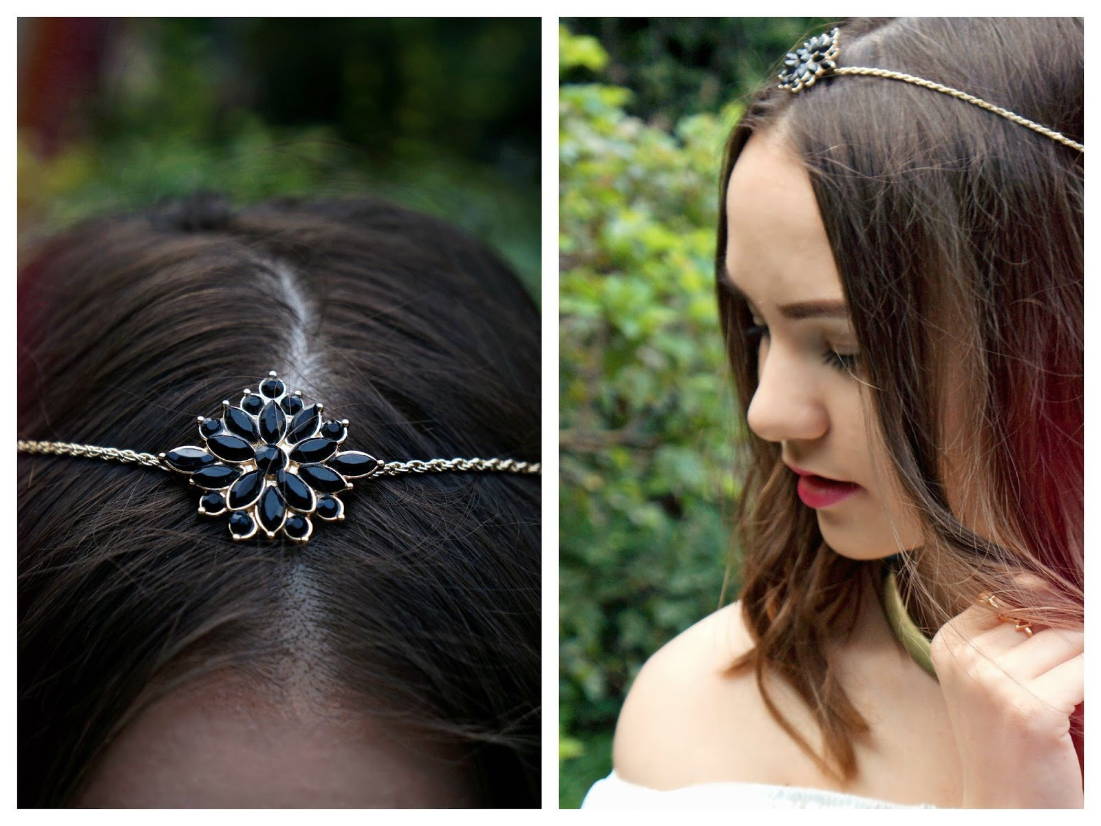 Headpiece, boho chic