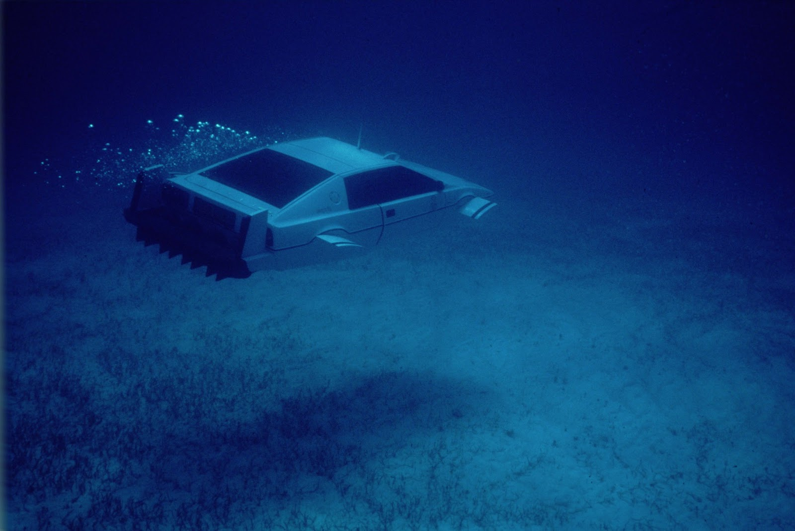 Bond in Motion London Film Museum underwater Lotus Esprit Spy Who Loved Me