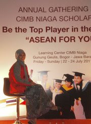 Thank You So Much for Unggulan CIMB Niaga Scholarship that Support My Education in UI :D