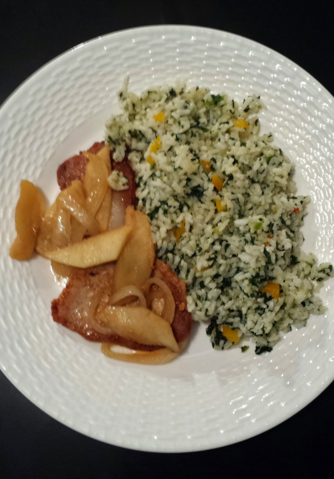 rice and pork chops recipe