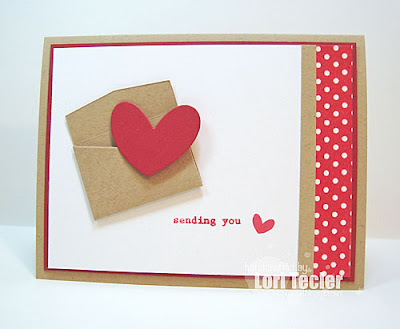 Sending You Love card-designed by Lori Tecler/Inking Aloud-stamps and dies from Clear and Simple Stamps