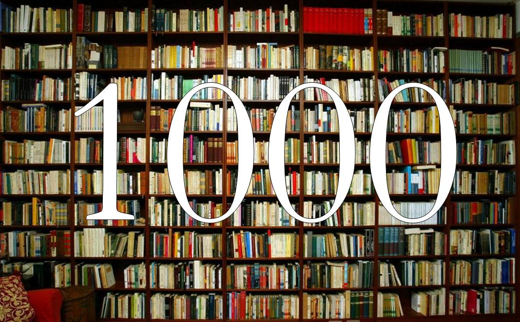 1000 entradas