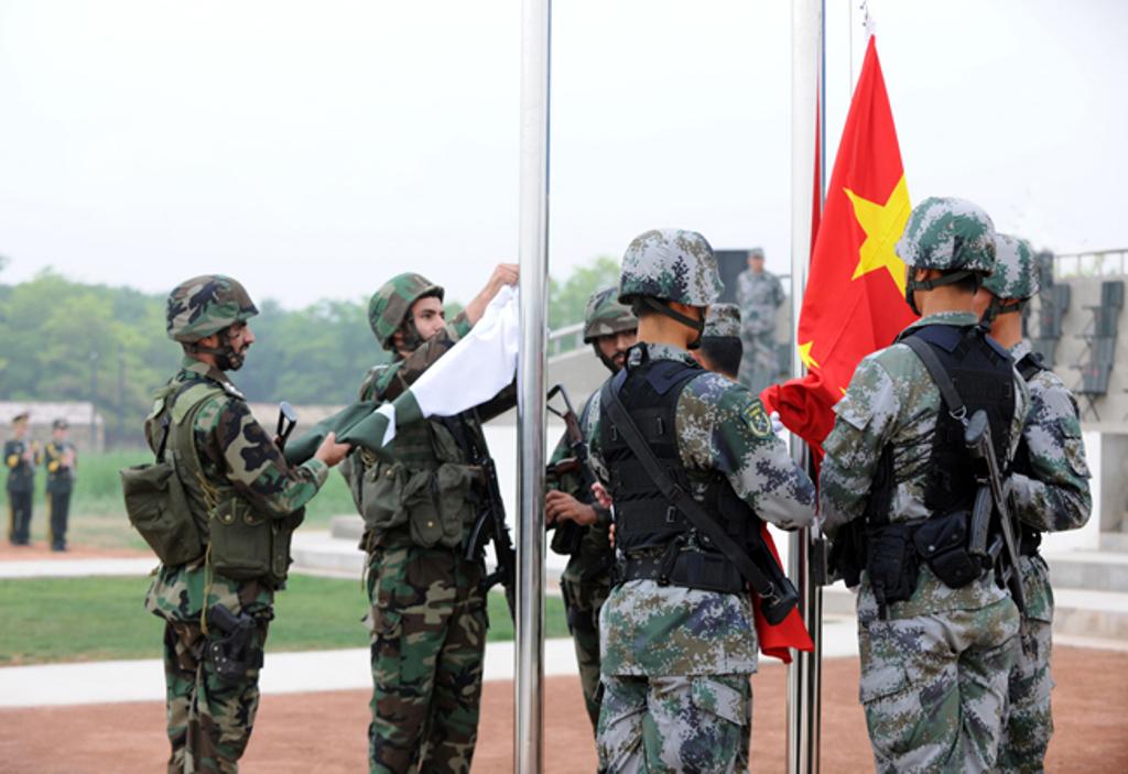 Pak China Joint Military Exercise Youyi Iv Starts Near