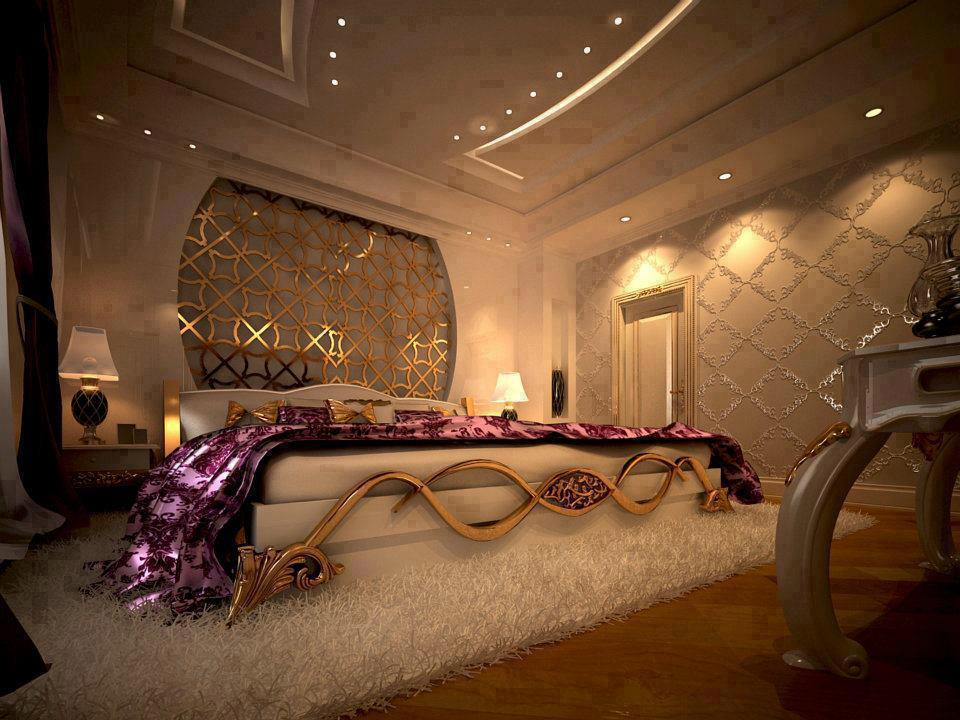 Modern royal bedroom interior decorating accessories for Bedroom designs royal