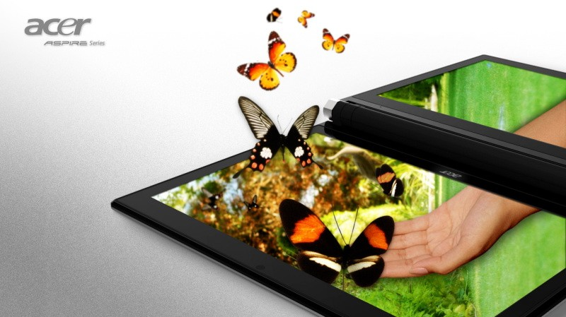 The Acer Iconia 6120 Tablet has two 14 inch touch enabled high ...