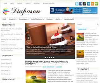 Diapason-Blogger-Template