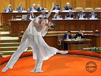 Funny photo Baletul opozitiei Victor Ponta Crin Antonescu